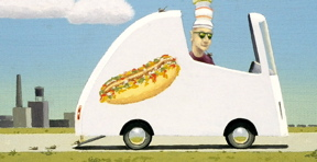 Hamlin Hot Dog Van